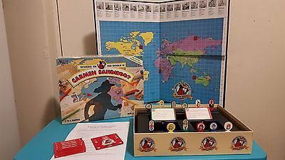 Where in the World is Carmen Sandiego? Board Game Excellent Condition Complete!