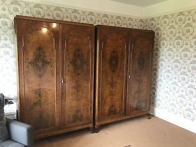 Antique Wardrobes X2 His And Hers