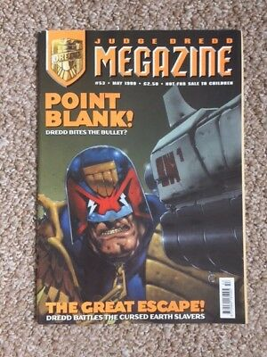 Judge Dredd Megazine - Issue 53 - May 1999