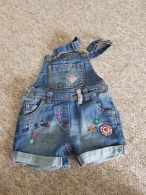 girls jeans dungarees Next size 18-24