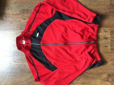 Lusso Mens xxl Long Sleeve Cycling Top Red