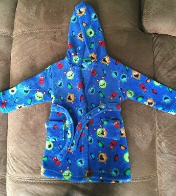 Boys 12-18 Months Monster Dressing Gown