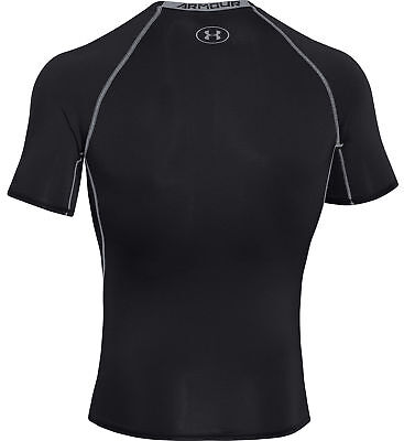 Under Armour HeatGear Armour Compression T-Shirt Mens Unisex Thermal Base Layer