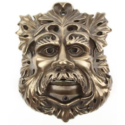 Bottle Opener Beer Buddies Resin Outdoor BBQ Green Man Wall Mounted Bronze