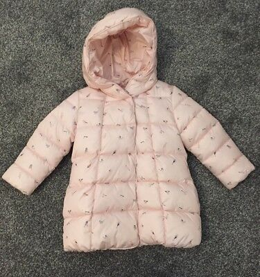 Next Baby Girls Coat 1.5-2 Year - Brand New With Tags