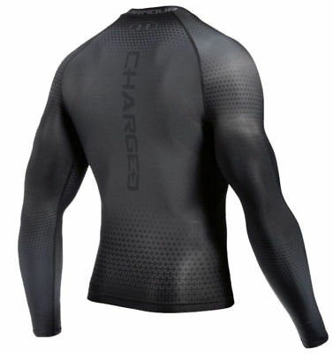 Under Armour Charged Compression Long Sleeve T-Shirt Mens Unisex Thermal Base