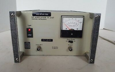 RF Amplifier Marconi Instruments TF2167