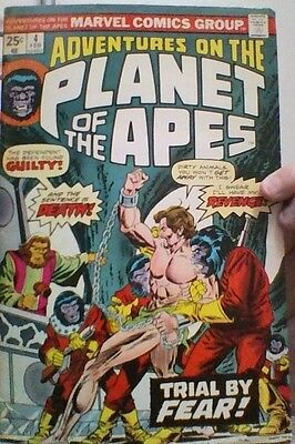Adventures On The Planet of the Apes  # 4 - Marvel US comic