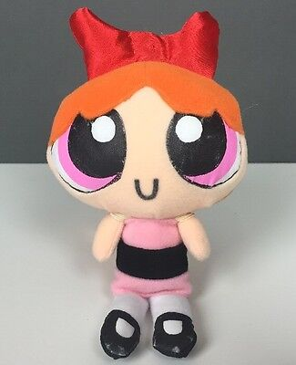2000 Cartoon Network Powerpuff Girls Blossom Plush Doll 7""