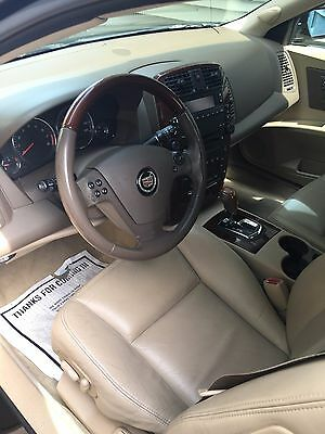 2006 Cadillac CTS Center console trim-leather 2006 cadillac cts