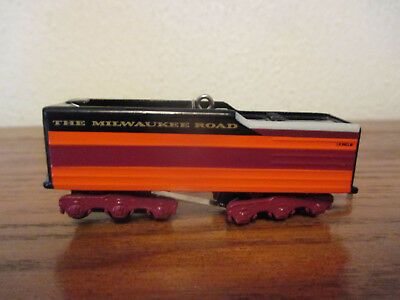 Hallmark Lionel Milwaukee Road Hiawatha Tender Christmas Tree Ornament