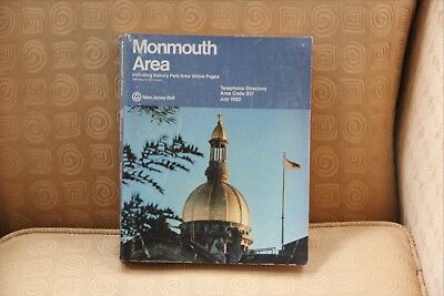 Monmouth Area New Jersey Telephone Directory July 1982
