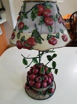 Home Interior Tea Light Holder Apples