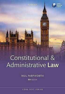 Constitutional & Administrative Law by Neil Parpworth (Paperback, 2016)
