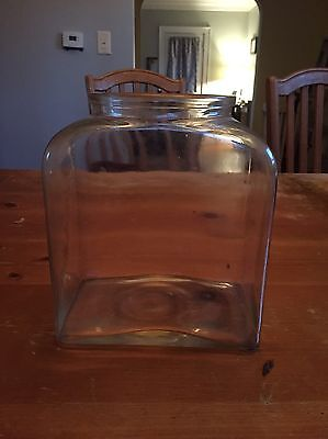 Vintage Planters Peanut 1940 Leap Year Country Store Counter Jar