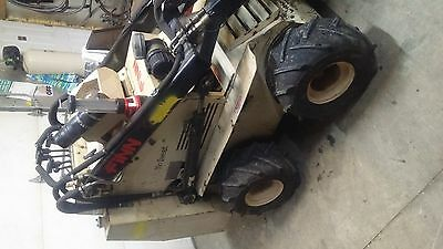 Finn eagle 244D Diesel & trailer & attachments