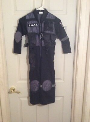 Teetot Halloween Costume / Dress Up - SWAT Police Officer w Whistle