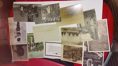 POSTCARD LOT - BRITISH MILITARY TYPE postcards WW1 WWI - 12 CARDS