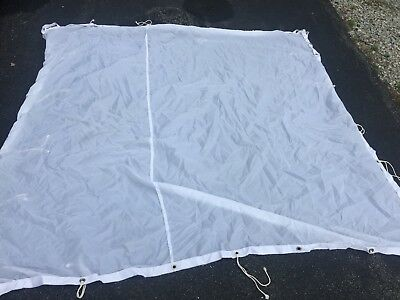 MSE 8x8 poly silk (excellent condition)