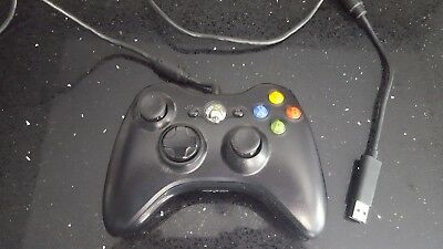 Wired / USB Microsoft XBOX 360 Controller (also works for PC)