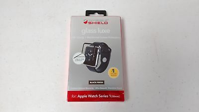 ZAGG Invisible Shield Glass Luxe Screen Protector Apple Watch 38mm - Black