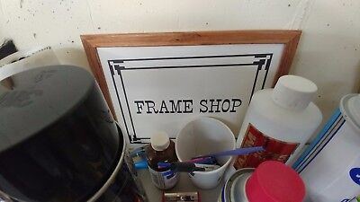 Photo Framing Equipment and Supplies - Everything for your new business