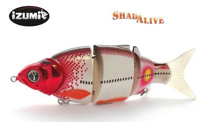 Rare IZUMI Shad Alive 105 Swimbait SLOW SINKING Fishing lure Jointed bait Tackle