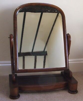 :Large Antique Dressing-table Mirror