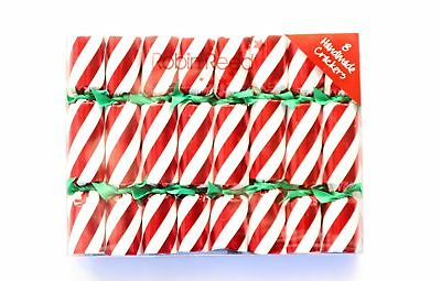 Robin Reed H7 Christmas Holiday 8pc Party Crackers – Candy Cane 156