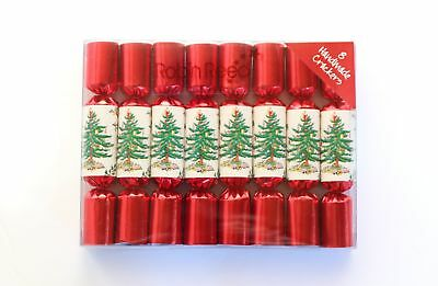 Robin Reed H7 Christmas Holiday 8pc Party Crackers – Mini Spode Tree 1006