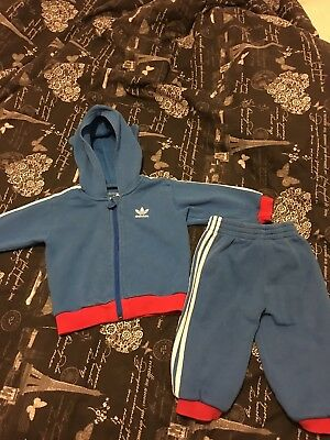 Adidas Tracksuit Baby Boys 12 Months