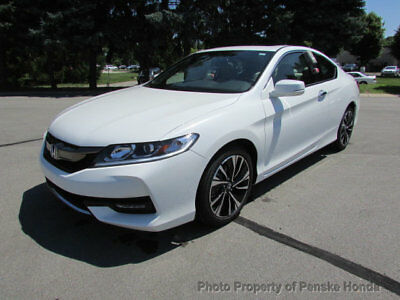 2017 Honda Accord EX CVT EX CVT New 2 dr Coupe CVT Gasoline 2.4L 4 Cyl White Orchid Pearl
