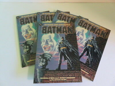 Batman-1989 Movie Adaptation-First Printing-Mint-Unread-5 Copies-All For 1 Price