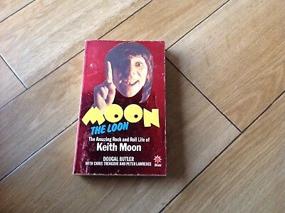 Moon The Loon Paperback On Keith Moon Of The Who