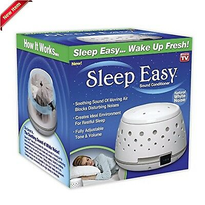 Sleep Easy Sound Conditioner White Noise Machine Baby Therapy,New Noise Machine