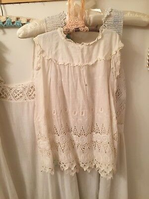 Vintage Edwardian Rustic Childs Dress