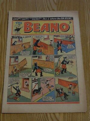 The Beano Comic #577 (1953) - 1st WALTER THE SOFTY ! - VG+ Condition