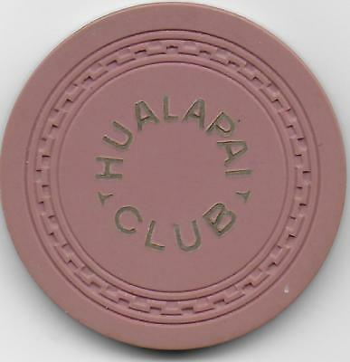 Casino Chip From The HUALAPAI CLUB-Las Vegas, Nevada-N8615-Closed 1994