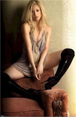 SHAKIRA ~ SHE-WOLF 22x34 MUSIC POSTER Pop Pinup NEW/ROLLED!