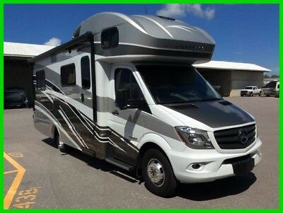 2017 Winnebago Navion 24V 24' Class C RV Mercedes Diesel Slide Out Generator FL