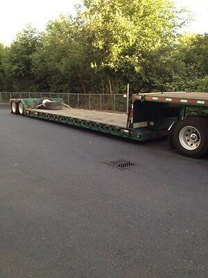 1993 Trail King  Double Drop Trailer (RGN)  semi trailer