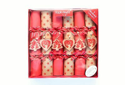 Robin Reed H7 Christmas Holiday 6pc Party Crackers – Swiss Chalet 6073
