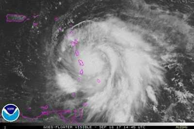 My Miracle Jesus shows  me His Face in Hurricane Maria 18 Sept 2017