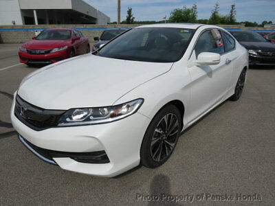 2017 Honda Accord EX-L V6 Automatic EX-L V6 Automatic New 2 dr Coupe Automatic Gasoline 3.5L V6 Cyl White Orchid Pea