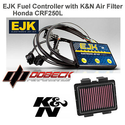 2017 Honda CRF250L Rally EJK Fuel Injection Controller & K&N Air Filter HA-2513