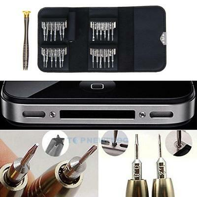 25 in 1 Cell Phone Screwdriver Set Opening Repair Tools Kit for iPhone PC Camera