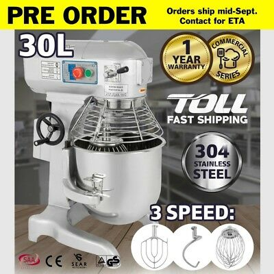SEAR Commercial Planetary Mixer 30L - Electric Dough Food Kitchen