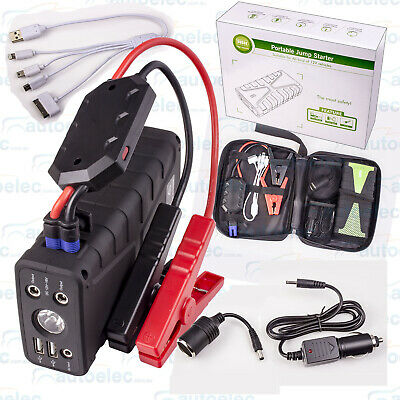 Lithium Boost 12V Mini Jump Starter Booster 1680A 800Cca Max Phone Power Pack