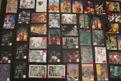 Lot of 55 Star Wars Galaxy Cards -1995  Lucasfilm Topps