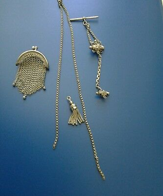 Antique German Silver pieces for Chatelaine.